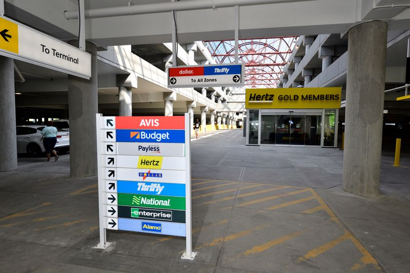 The new facility is located at Level 1 of the parking garage, allowing rental companieseasy...