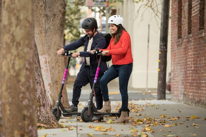 The transportation service joins the likes of Bird and Lime, earlier startups that kickstarted the electric scooter-sharing trend.