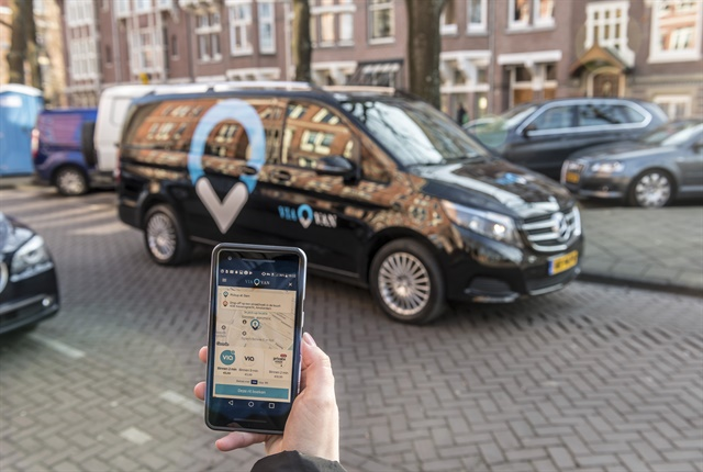 Through the ViaVan app, passengers are seamlessly matched in real time with other riders travelling in the same direction, sharing their trip in a professionally-chauffeured van.
