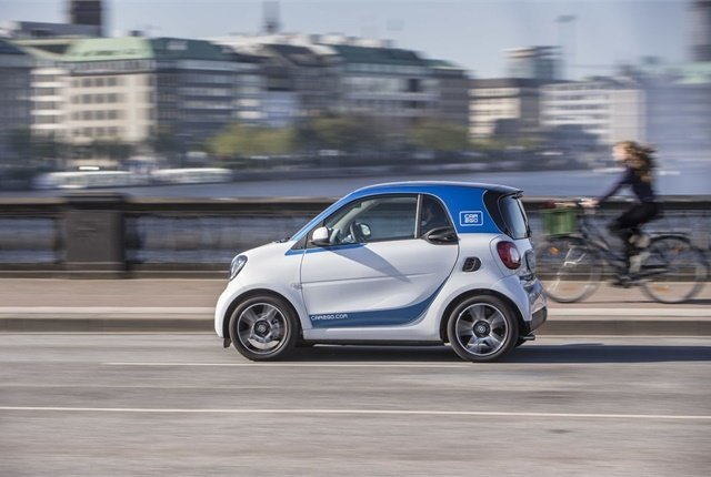 Car2Go and DriveNow operate a total of 20,000 vehicles in 30 major international cities. - Photo courtesy of Car2Go.