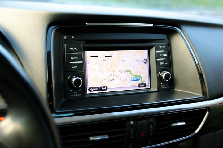 For rental car companies and dealerships, GPS functionality is just one advantage of this partnership.   - Photo via Max Pixel.