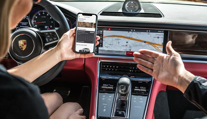 Going forward, Porsche dealers will be responsible for all services and the customer experience outside the digital world. - Photo via Porsche.