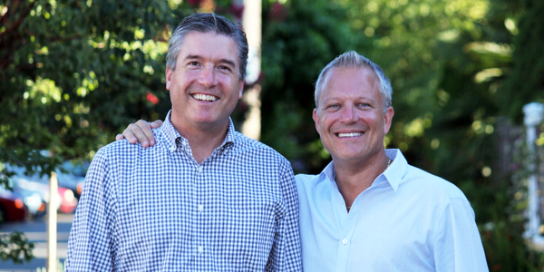 Record360 Co-Founders Damon Haber (left) and (right) Shane Skinner.