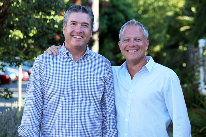 Record360 Founder Damon Haber (left) and (right) Shane Skinner, CEO. - Photo courtesy of Record360.