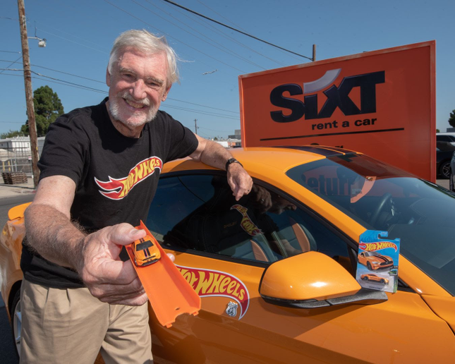 Larry Wood designed a logo for the tour and had many stops along the way to meet enthusiasts. Wood even hand built a Hot Wheels Sixt edition Shelby GT-S that he will auction for charity later this year. - Photo courtesy of Shelby.
