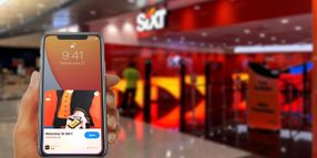 Sixt Releases Vehicle Selection with New iOS Update