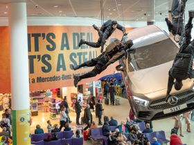 Sixt Debuts Mission Impossible Installation at Manchester Airport