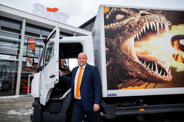 An experienced and efficient expert, 43-year-old Marasch was a former board member of the Lidl trading company. He brings extensive expertise in both international expansion and in setting up sustainable logistics and supply chains. - Photo courtesy of Sixt.