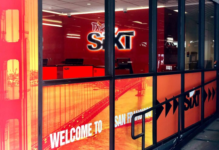 Sixt's newest San Francisco office is its third location in the Bay Area and second in downtown San Francisco. - Photo courtesy of Sixt.