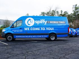 Get Spiffy Launches Green Tire Service