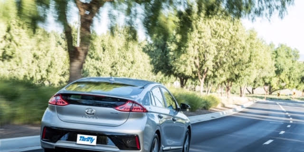 Thrifty now offers the Hyundai IONIQ, with a 200km verified range and zero exhaust emissions, as...