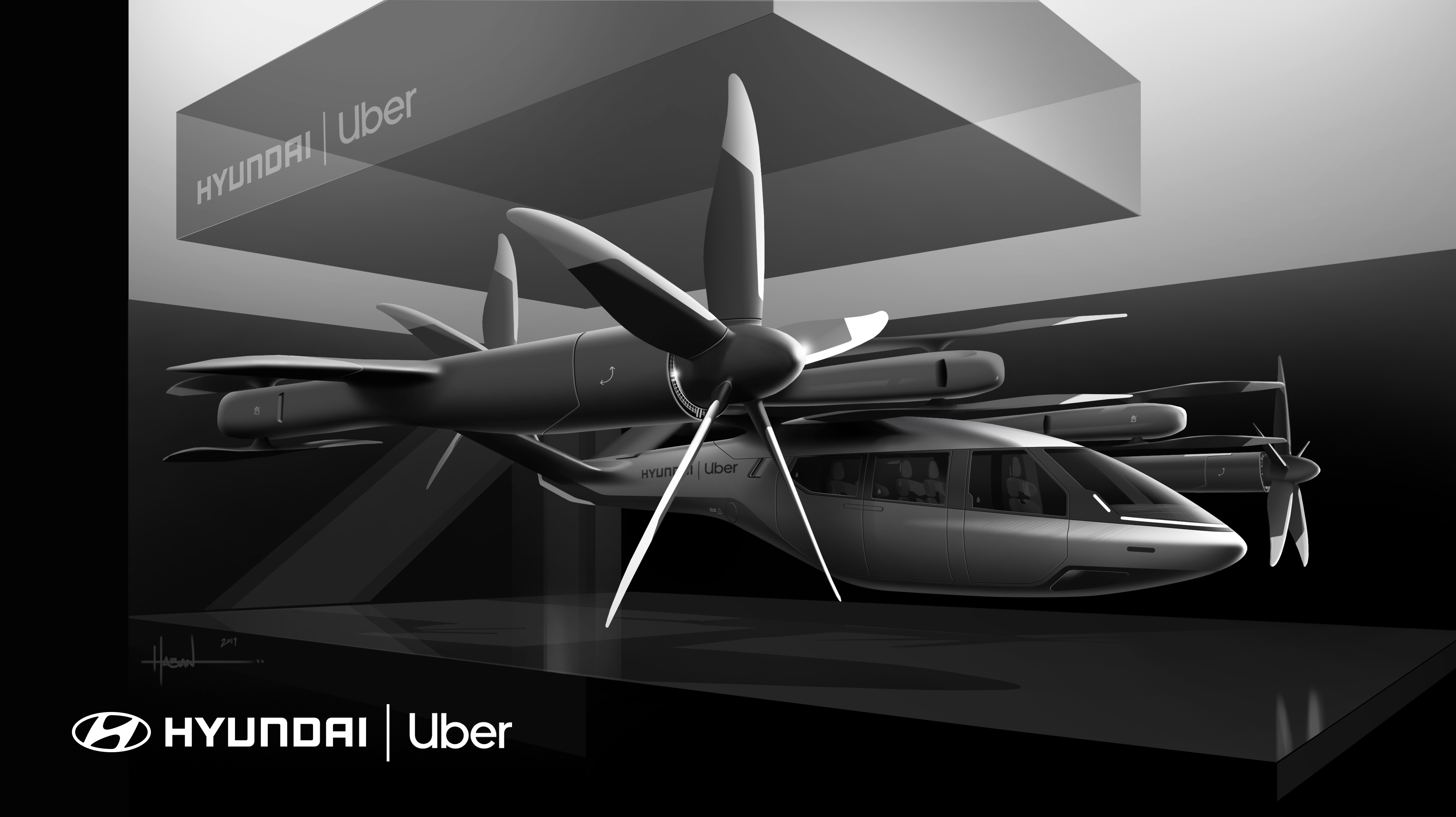 Hyundai, Uber Announce Air Taxi Partnership