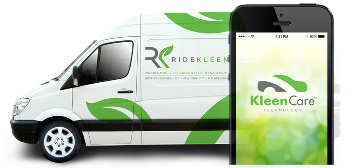 RideKleen currently operates in 10 mobility-centric markets where it cleans shared fleets operated by clients Getaround, Zipcar, and Enterprise Car Share. - Photo via RideKleen.