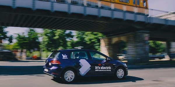Initially, the service area of WeShare will cover about 150 km2– in the city center and beyond...