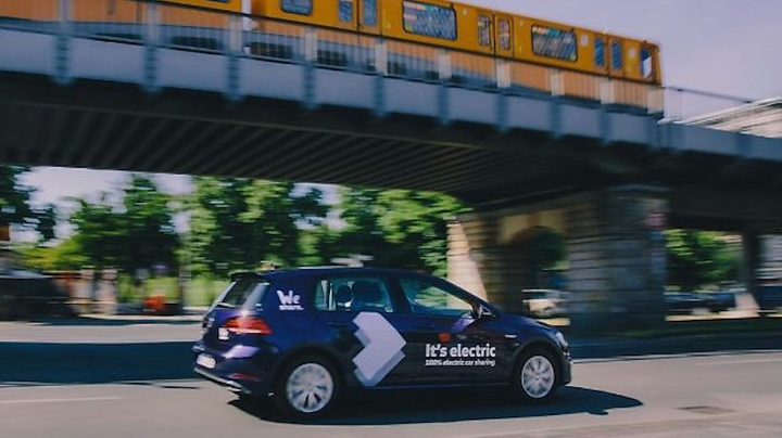Initially, the service area of WeShare will cover about 150 km2 – in the city center and beyond the city train ring line.