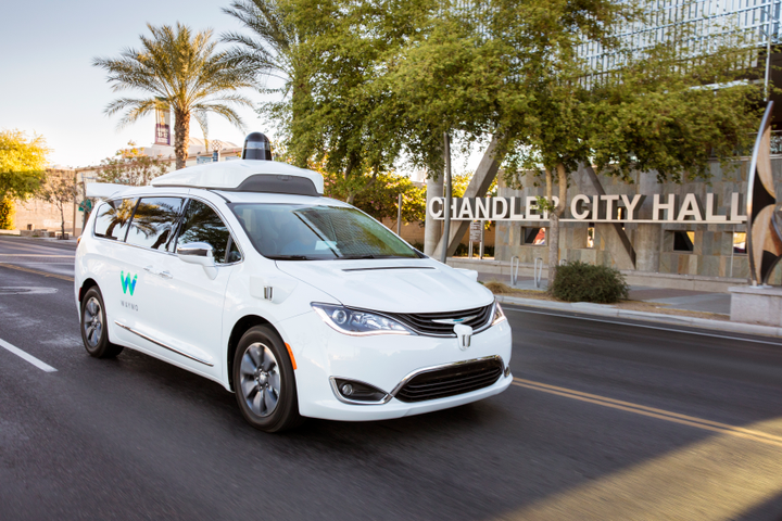 Eventually, Waymo will have 10 vehicles available for the Phoenix pilot. - Photo via Waymo.