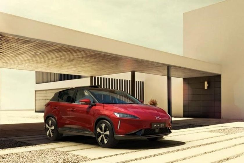 The Xpeng G3 electric SUV is available on the car rental platform.