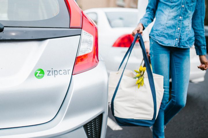 Zipcar Taiwan vehicles are clearly marked and designated and can be reserved in just a few minutes via Rent Centric Zipcar iOS and Android apps. - Photo courtesy of Zipcar.
