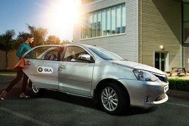 Ridesharing App Ola Partners with Indian Airport