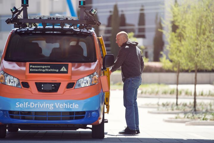 Drive.ai's self-driving, on-demand service will be operated in conjunction with Frisco TMA, a public-private partnership dedicated to bringing innovative last-mile transportation options to the growing population of Frisco. Photo: Drive.ai