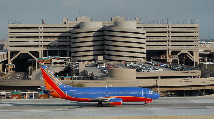 The terminal closure resulted in evacuations of travelers and flight delays and cancellations for several airlines.  - Photo via Felix Gotwald/Wikimedia.