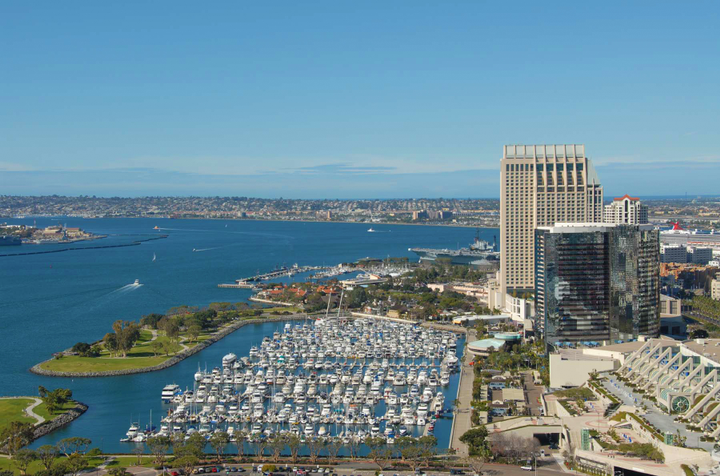 The San Diego International Airport, Enterprise Rent-A-Car, and the Hertz Corporation entered a lawsuit against the Port back in July to contest the legality of a $3.50 rental fee per vehicle. - Photo via Port of San Diego/Flickr.