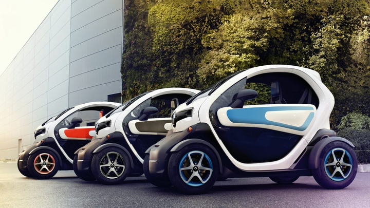 Lime plans to rent the Renault Twizy for $1, plus 40 cents for each additional minute, according to a confidential pitch deck. - Photo courtesy of Renault