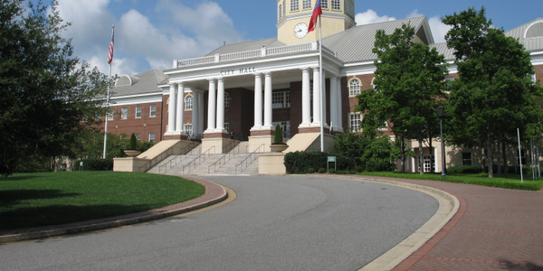 The Roswell, Ga., city hall.Photo via Carrie Qualters/Wikimedia.
