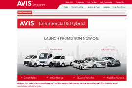 Avis Adds Vans, Hybrids to Singapore Fleet