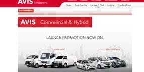Avis Adds Vans, Hybrids to Singapore Fleet
