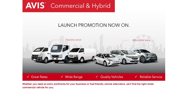 The flexibility of the commercial rental service now means that customers have access to a van,...