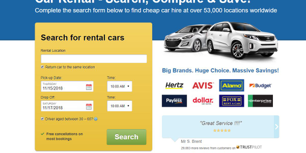 The partnership with Rentalcars.com will give the travel company usage of the new Cover Genius...