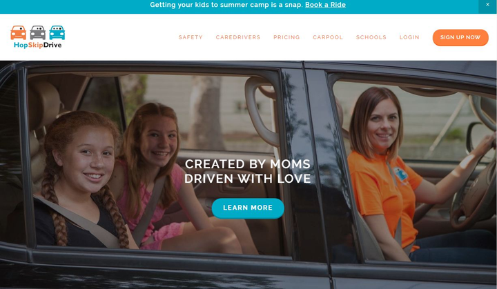 With HyreCar, car owners in Denver can safely rent out their idle assets to HopSkipDrive CareDrivers to earn passive income. - Screenshot via HopSkipDrive.