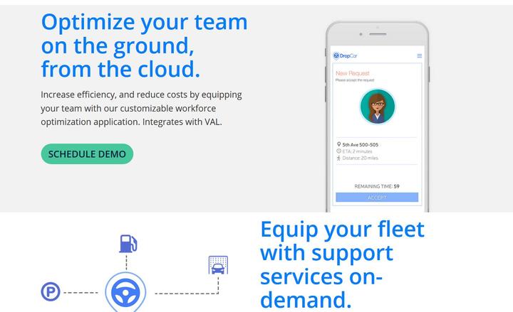 Software Service DropCar Comes to Los Angeles - Rental