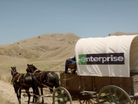 Enterprise Reimagines Historic Events for New Ad Campaign