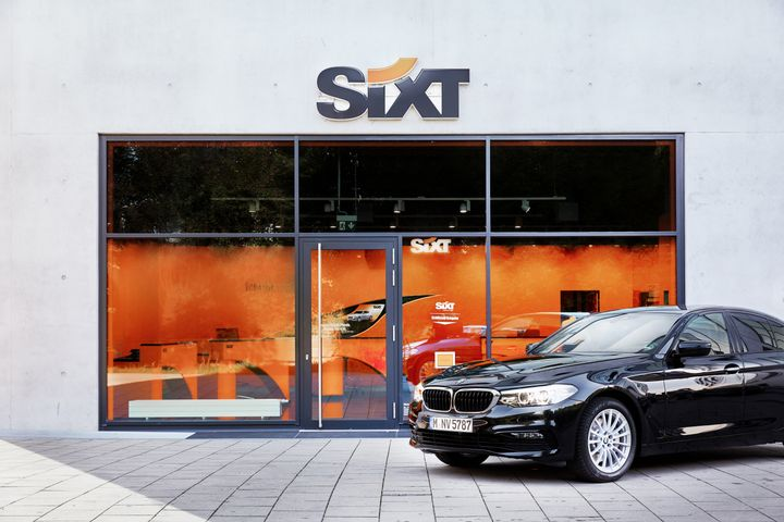 Sixt's European customers will have a single point of contact for all mobility products, including care rental, chauffer service, ride-hailing, mobility management, and mobility concepts, according to a press release. - Photo courtesy of Sixt.