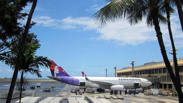 Kahului Airport is one of Hawaii's busiest airports. - Photo via Hakilon/Wikimedia.