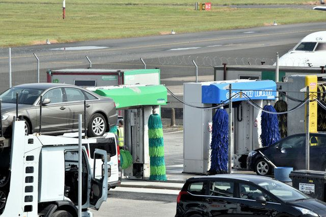 Beginning Aug. 1, car rental agencies at Sawyer International Airport in Michigan will be required to charge customers a $2.50 assessment fee on each vehicle transaction. - Photo via Albert Bridge/Geograph.
