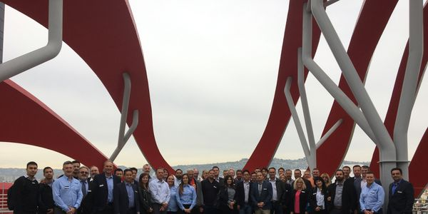 The United MileFleet Roadshow gathered car rental operator and supplier attendees on the roof of...