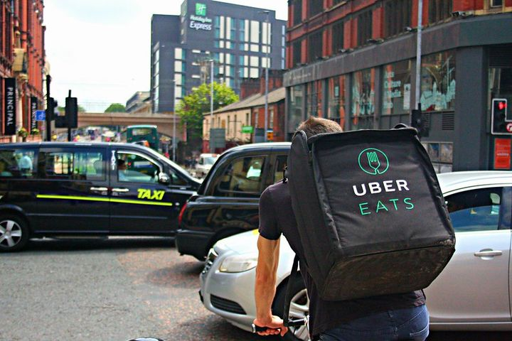 U.S.-based drivers can sign up through the driver app to deliver food for Uber Eats or transport and deliver cargo for Uber Freight. - Photo via Shopblocks/Flickr.