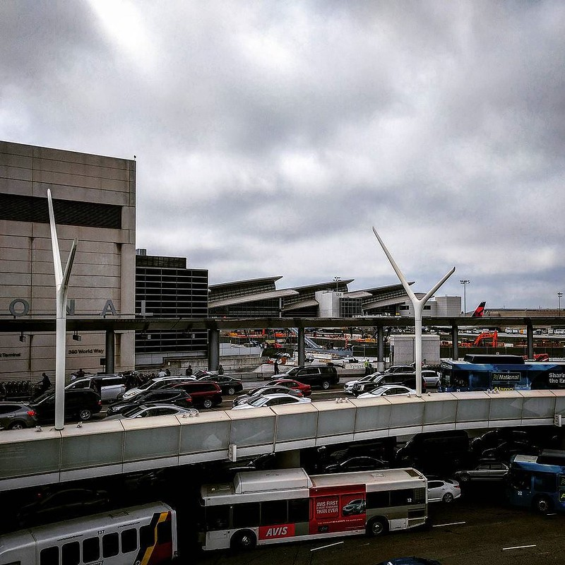Angry Travelers Face Long Lines at LAX's New Rideshare Pickup
