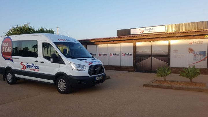 Surprice Car Rentals will begin offering a client shuttle service at its office in Faro, Portugal.  - Photo courtesy of Surprice Car Rentals.
