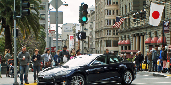 Ninety percent of trips taken by Tesloop's Model S 90D used the vehicle's autonomous driving...