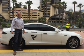 Tesloop Sets Tesla Mileage Record