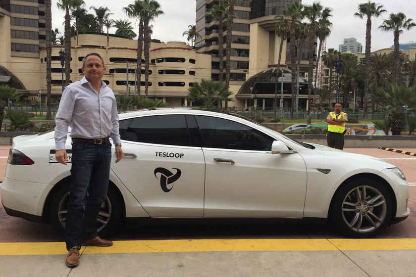 Auto Rental News Executive Editor Chris Brown rode in Tesloop's eHawk, which surpassed 400,000...
