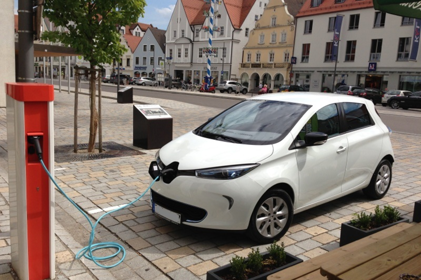 Meshek Energy will operatethe charging stations, and residents will be able to rent the...