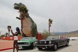 Vinty Rents Over 30 Classic Cars for Coachella Music Festival