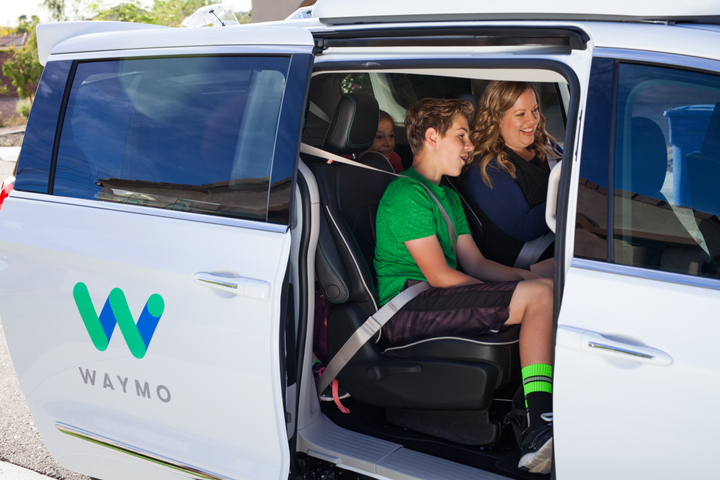 Beginning this month, Waymo, Alphabet's autonomous vehicle unit, will be providing first- and last-mile transit connection for Valley Metro employees. - Photo courtesy of Waymo.