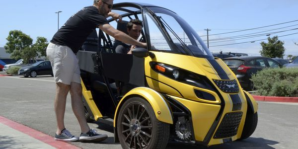 The FUV is currently available to Arcimoto preorder customers on the West Coast.