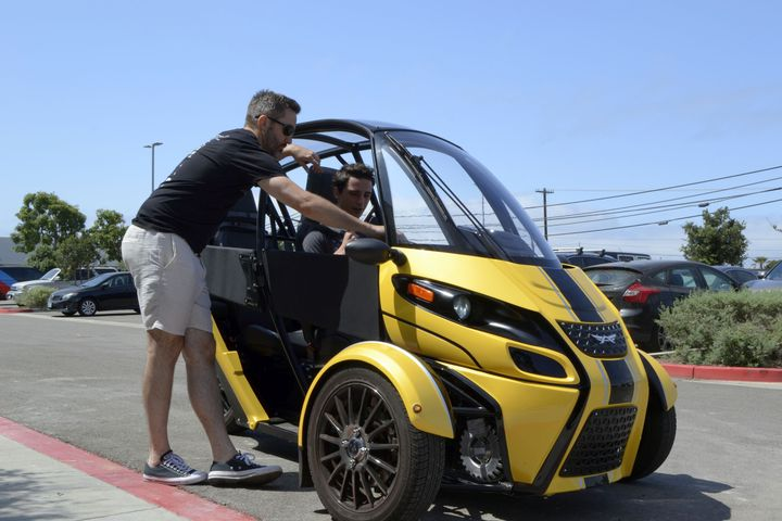 The FUV is currently available to Arcimoto preorder customers on the West Coast. - Photo by Michaela Kwoka-Coleman.